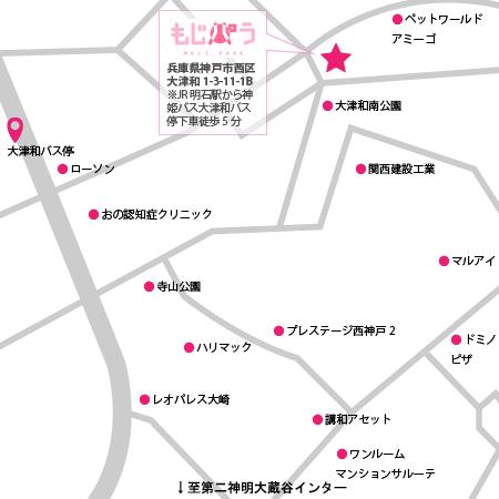 カフェ 地図